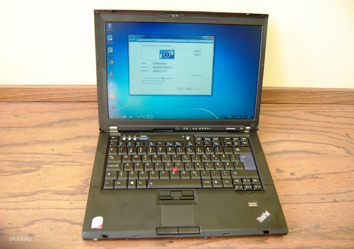 314b7b007fb Lenovo T61 äriklassi arvuti